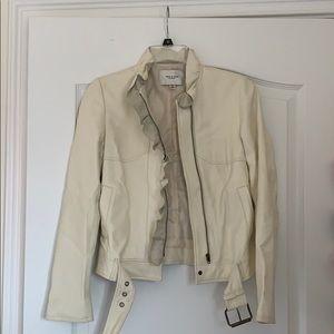 Paul & Joe for Target White Leather jacket XS